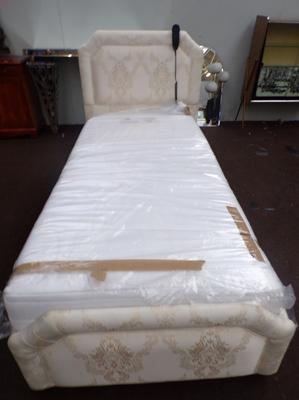 As new electric bed with mattress - cos £695