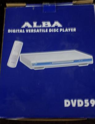 Alba DVD with remote