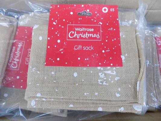 24 hessian xmas present sacks