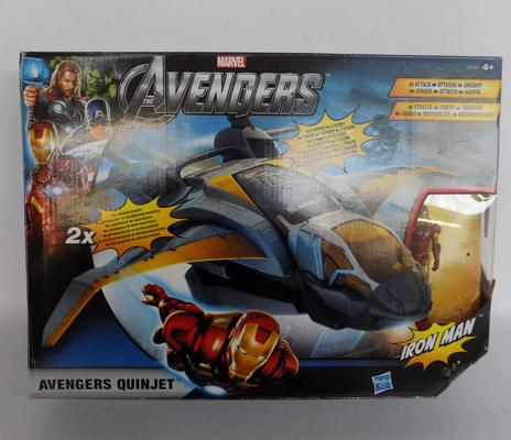 Avengers Iron Man quinjet - boxed