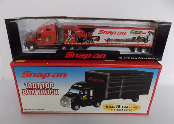 2x Boxed Snap-on models, Trucks