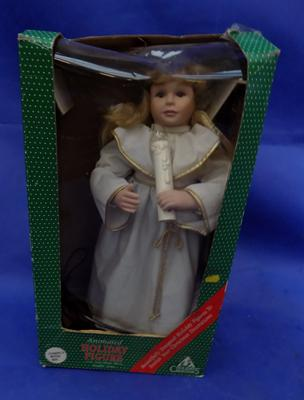Large boxed Holiday Figure