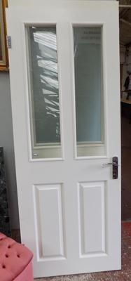 3 interior glazed standard doors with fittings