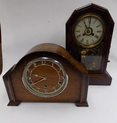 Vintage mantle clock & full west Minster chime mantle clock