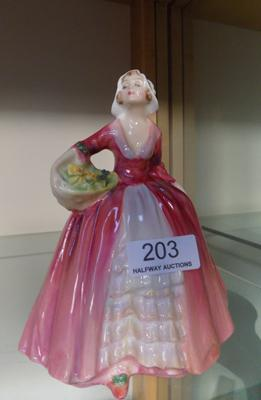 Royal Doulton 'Janet' HN 1537, issued 1932-1995 Approx 6 inches tall-no damage found