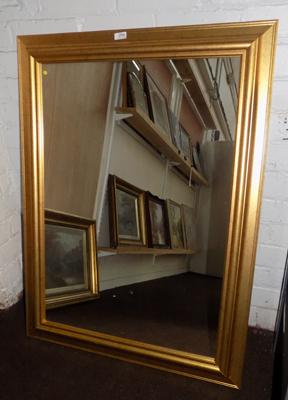 Large framed mirror 40 inches x 30 inches