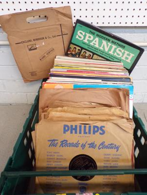 Selection of LPs and Gramophone Records