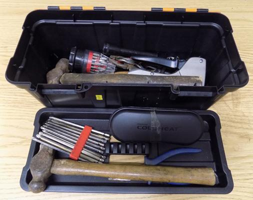 New tool box containing tools