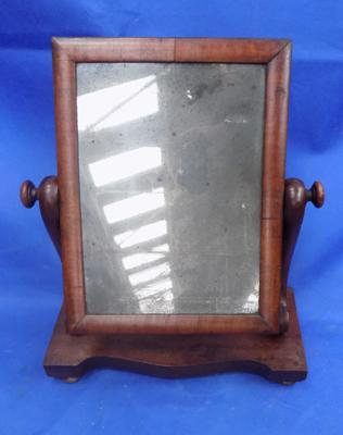 Victorian swivel dressing table mirror