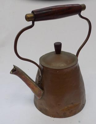 Vintage copper kettle-unusual style