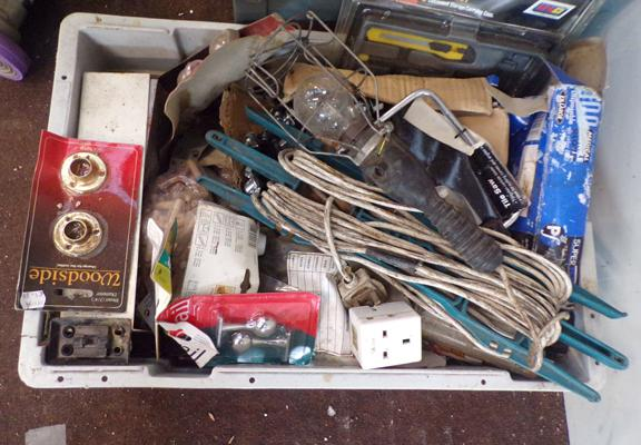 Collection of plumbing items inc ratchet