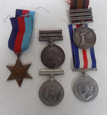 PTE Hays 6 Medals inc 1901 & 1902 South Africa
