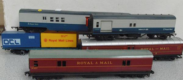 Hornby OO Collection of coaches rolling stock etc. Meccano electric coach