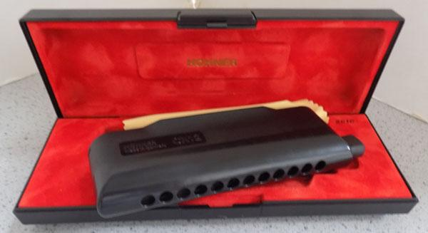 Hohner CX12 professional 16 harmonica 'A'