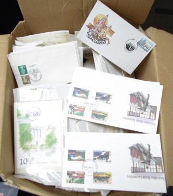Very large Quantity of First Day Covers - Heavy Box