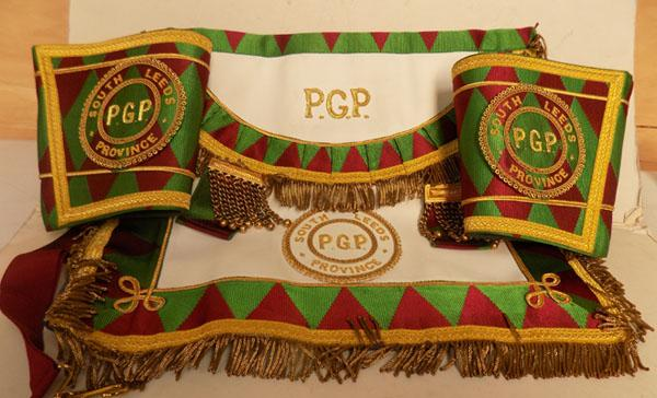 Set of Leeds South Province Sash & Cuffs