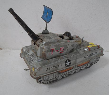 US army tin plate tank