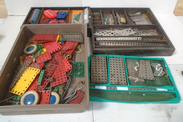 Collection of Meccano