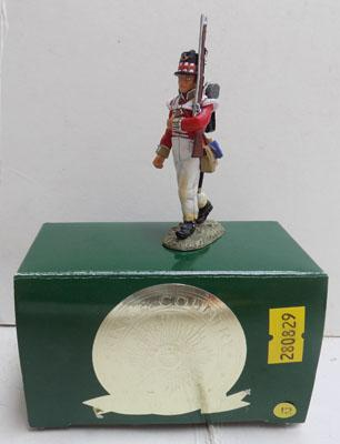 Brittains 71st Highlander marching NA32 boxed in mint condition