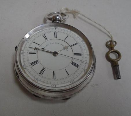 Solid silver 1800's Marine Chronometer pocket watch