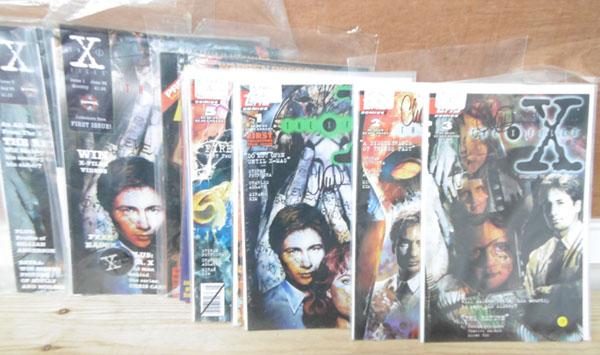 9x Vintage X files magazines & 3x Pantha girls magazines-mint condition