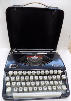 Olympia Spendid typewriter, made in Germany