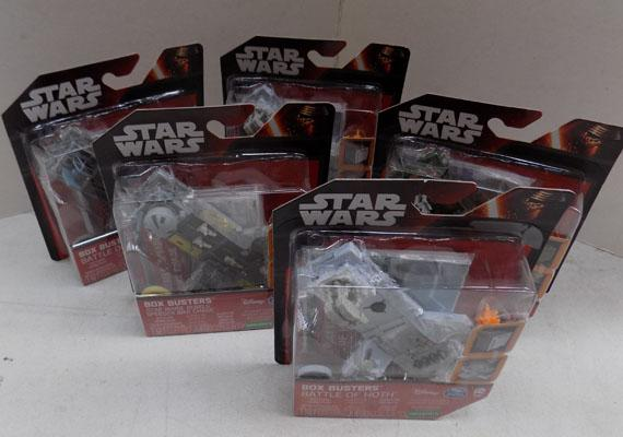 5x Star Wars battle boxes
