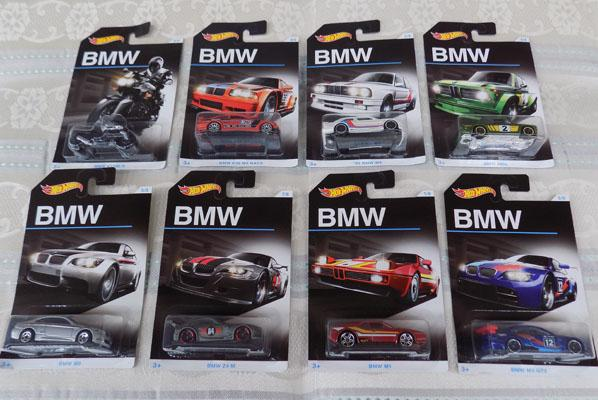 Full set of BMW Hotwheels