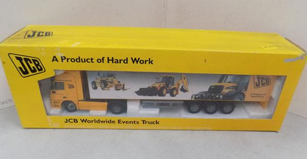 Collectors truck - Worldwide Events - JCB collection