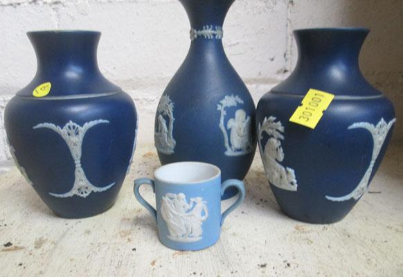 4 Wedgwood items