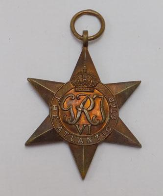 1939-45 Atlantic Star medal