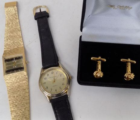 Selection of watches & cufflinks