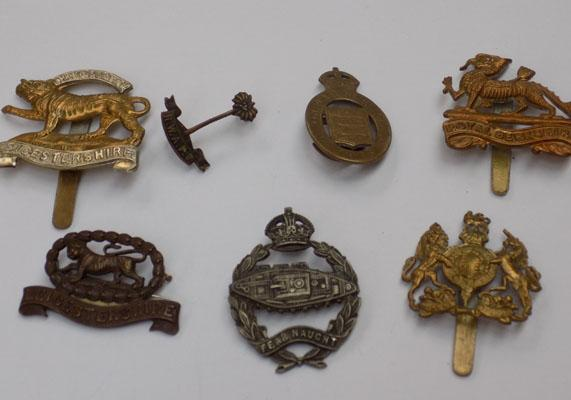 Selection of medals & badges
