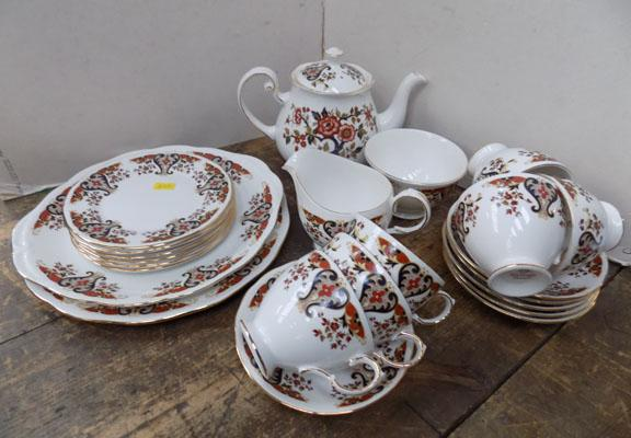 Colclough part tea service