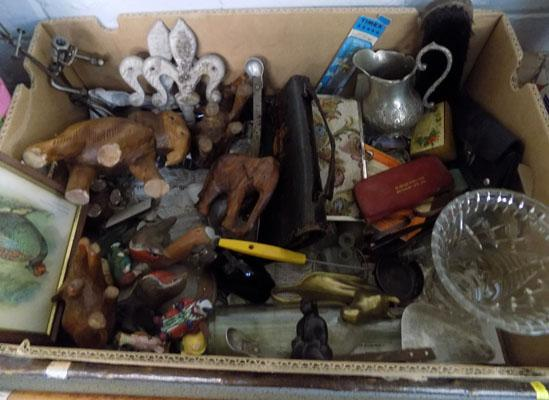 Mix box of collectables