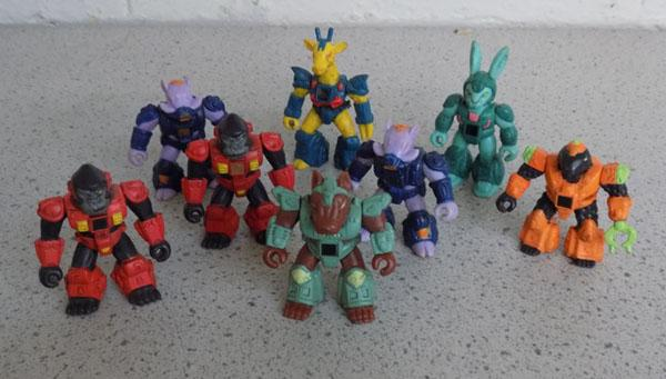 8x battle beasts 1986 Takara