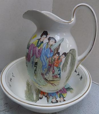 Japanese jug and bowl set