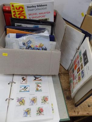 Box of Victorian, Edwardian & vintage maps & atlasses
