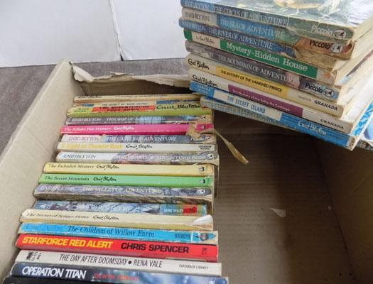 Box of vintage Enid Blyton children books