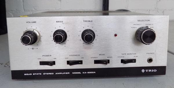 Trio of solid state amp KA - 2000A