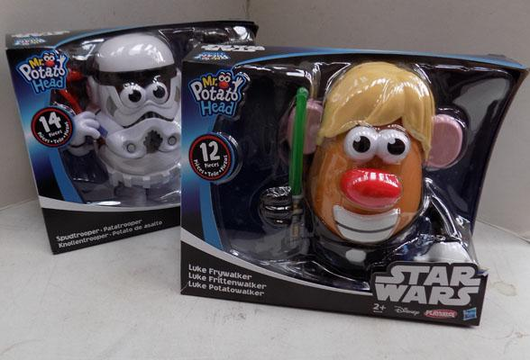 2x Star Wars Mr potato head