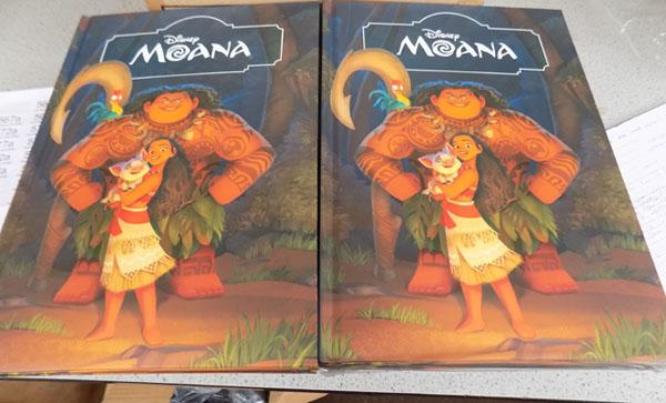 12 new Disney 'Moana' story books