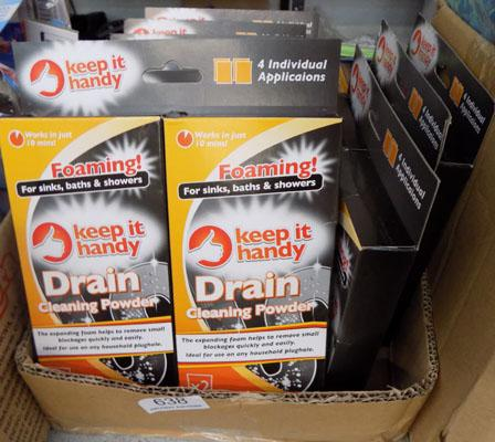 12 new Drain Cleaner kits