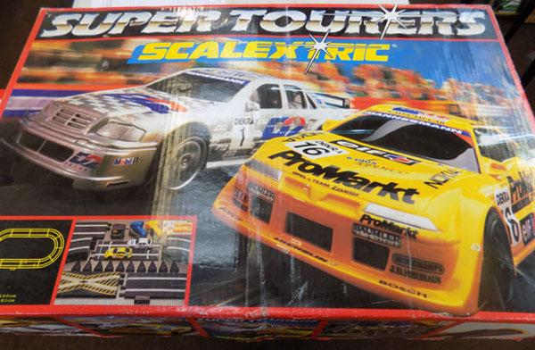 Super Tourers Scalextric set in w/o
