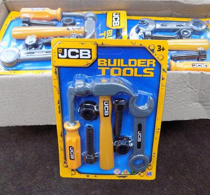 12x JCB tools sets