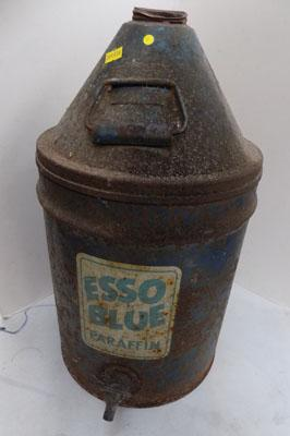 Esso Blue oil can