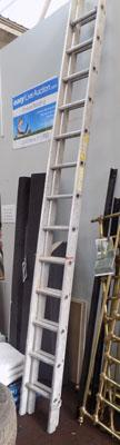 11ft 6in Aluminium ladders