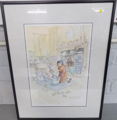"Margaret Clarkson signed ""there's soap in my eyes"" 123/500"