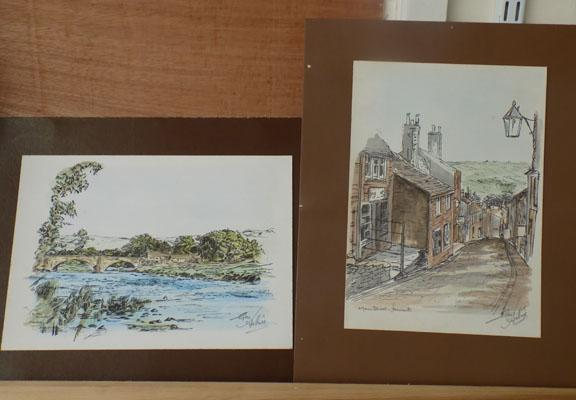 2x George Arthur signed watercolours