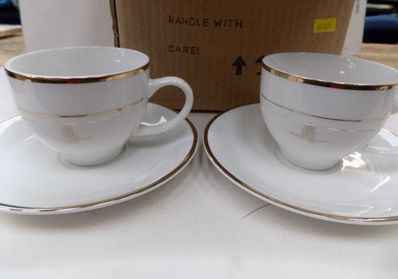 4 Piece tea set of Queen Elizabeth II Golden Jubilee